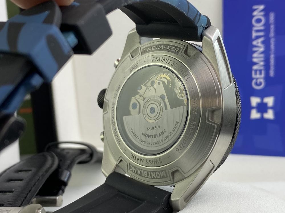 Lot 8 - Montblanc Current Edition 2019 Timewalker Chronograph Ref: 116100