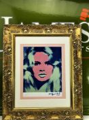 "Andy Warhol 1984 ""Brigitte Bardot"" Lithograph Ltd Edition"