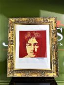 "Andy Warhol 1984 ""John Lennon-The Beatles"" Lithograph # 5/100 Ltd Edition"
