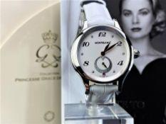 Montblanc Special Edition Princess Grace Of Monaco Diamond Watch
