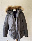 Hackett-London Down Parka Arctic Coat Mens Size XL-Ex Display