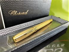 Chopard Roller Racing Special Edition Gold Plated Ballpoint Pen