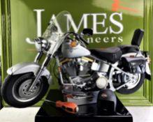 DeAgostini Harley Davidson Fatboy 1:4 Scale Working Lights, Horn, Sounds etc