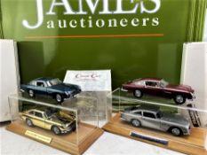 James Bond Aston Martin Collection of Danbury Mint DB5 Complete Set
