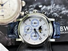 Belgravia London Watch & Co Moonphase Chronograph Special Edition,
