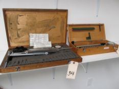 Lot - Mitutoyo Bore Gage Set & Misc. Bore Gage Set