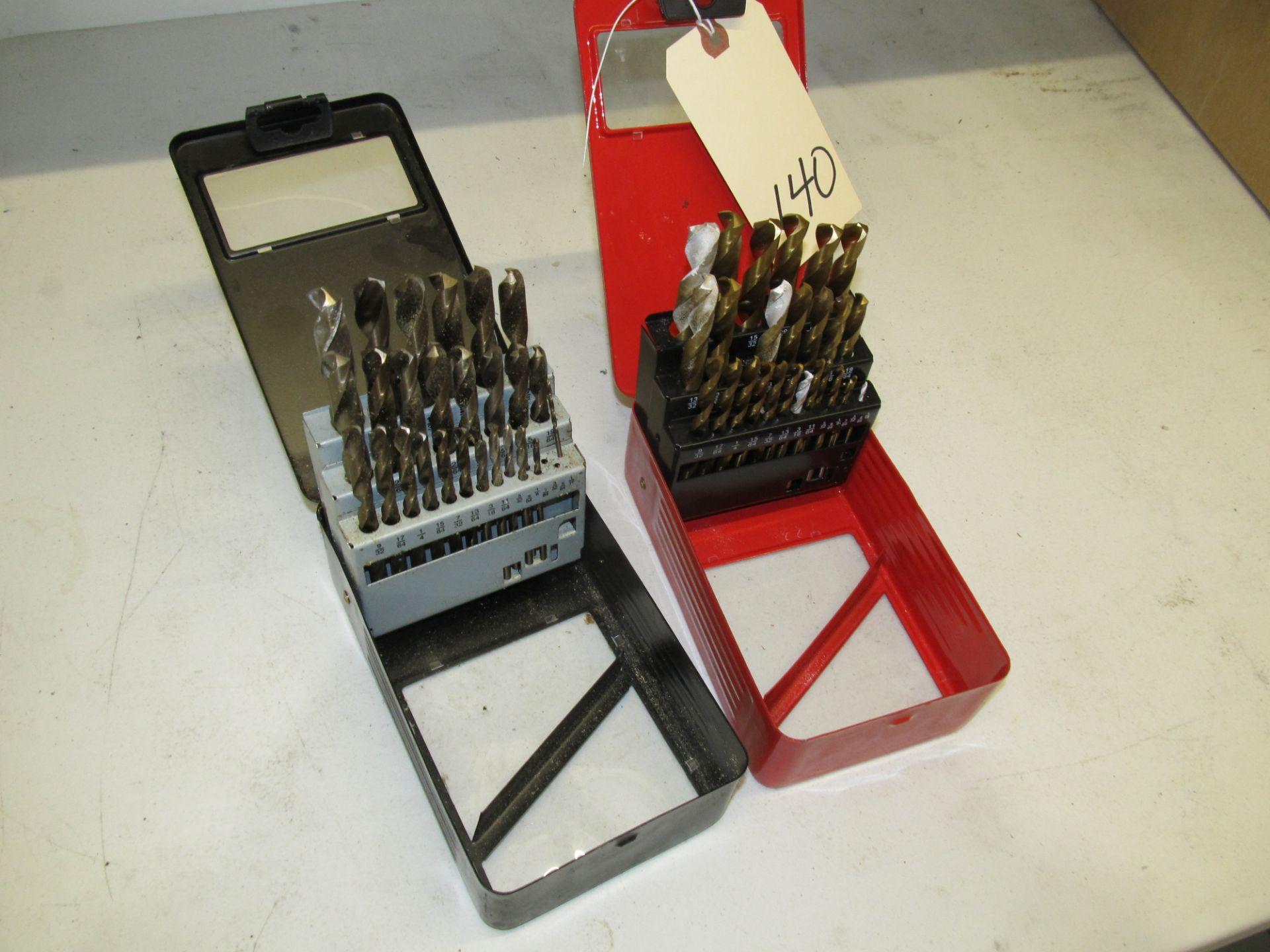 Lot 140 - Lot - 2 Drill Bit Sets