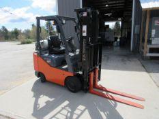 Toyota 8FGCSU20 Forklift (32 Hrs.) 4,000lb Capacity