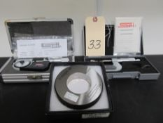 "Lot - SPI Outside Micrometer, Indicating Micrometer, 2"" Setting Ring"