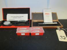 "Lot - SPI 1"" Dial Bore Gauge & Groove Micrometer, Etc."