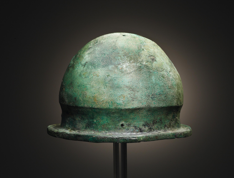 Lot 14 - A Negau Helmet (Vetulonia Type)
