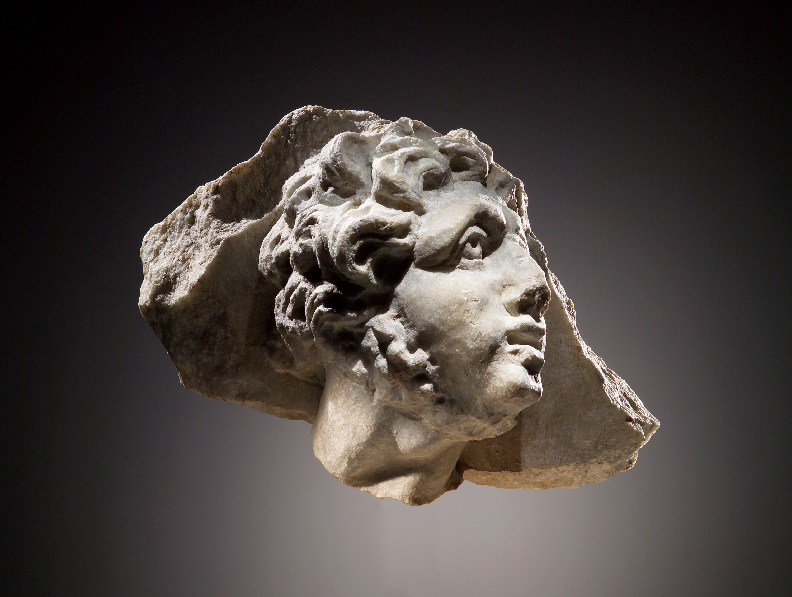 Lot 56 - A Head of a Man in Relief