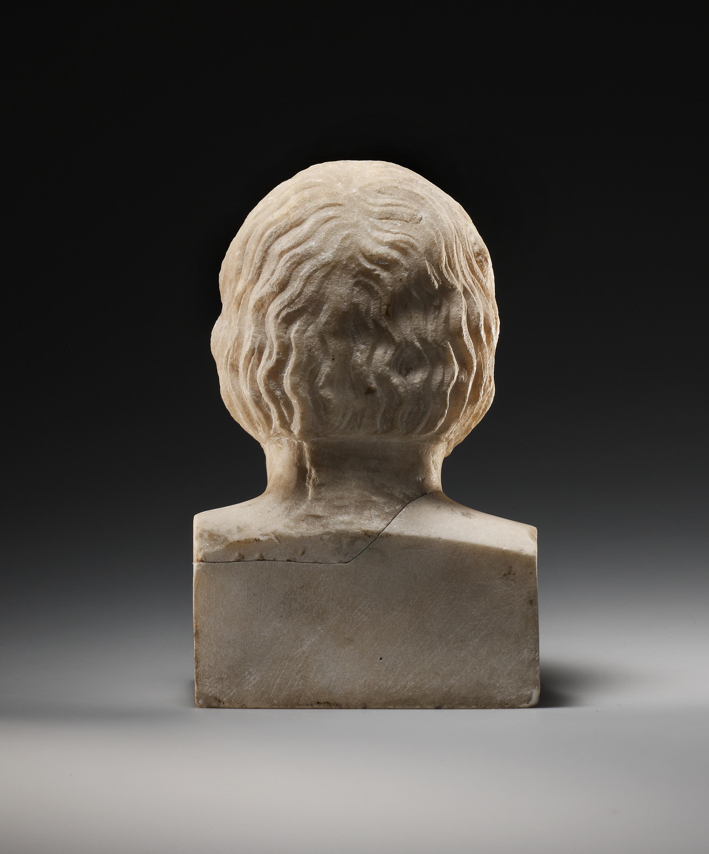 Lot 54 - A Portrait Herm of Euripides