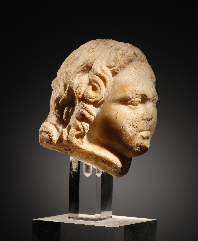 Lot 50 - A Small Head of Eros