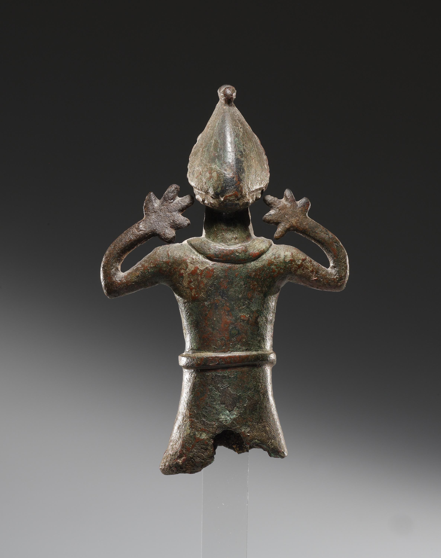 Lot 45 - A Coptic Statuette of a Worshipper