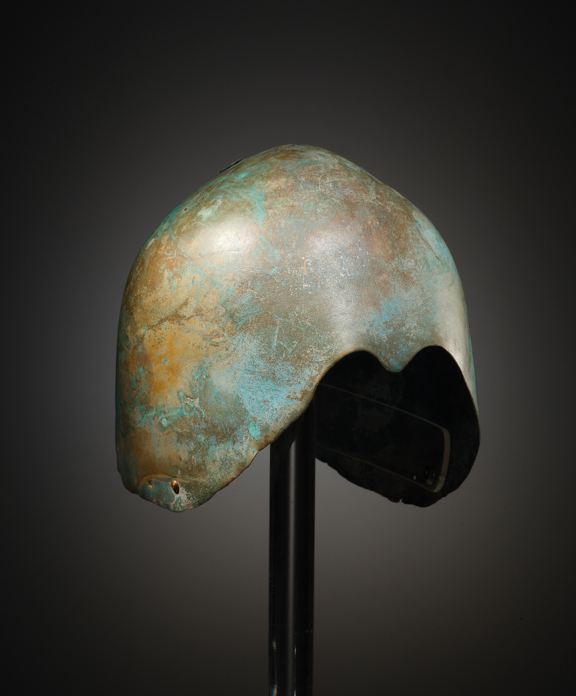Lot 12 - A Levantine Bronze Helmet