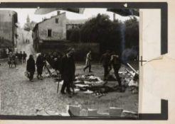 Fluxus - - Knizák, Milan. (1940 Pilsen). Josef Blaha. 1965-75. Collage aus S/W Fotografie und