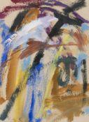 Abstrakter Expressionismus - - Kooning, Elaine de. (1918 New York - 1989 ebenda). o.T. Mischtechnik