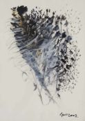 Gün, Dennis Mehmet. (1956 Istanbul - 2014 Berlin). o.T. 2003. Acryl auf Aquarellpapier. 70 x 50 cm.