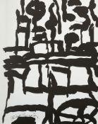 050 - - Phillip Guston. o.T. 1988. Lithographie auf Papier. 30,5 x 22,5 cm (30,5 x 22,