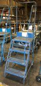 Klime-ezee Mobile 4 Tread Ladder