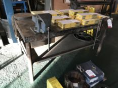 Metal Engineers Workbench w/ 3 x Various Vices