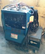 Miller Syncrowave 250 DX Tig Welder w/ Miller Intercool, Clamp & Welding Gun