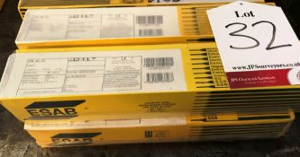 4 x ESAB OK 46.00 Welding Rods | Various Sizes & Quantities - As Pictured