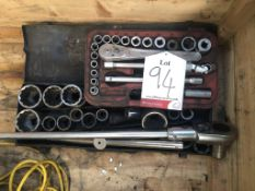 2 x Various Socket Wrench Sets