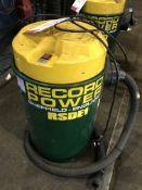 Record Power RSDE1 45L Fine Filter Dust Extractor