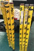 6 x Tubes of Various ESAB Welding Rods - As Pictured