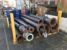 Quantity of Large Metal Tubing - As Per Pictures