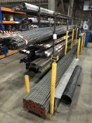 Quantity of Metal Stock as per pictures - SCAFFOLD RACK INCLUDED