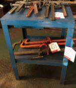 Blue Metal Workbench