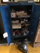 Metal Cabinets w/ Welding Accessories & Consumables - As Pictured