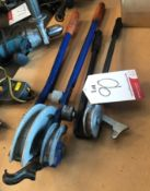 2 x Various Pipe Benders