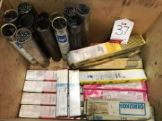 Approximately 27 Boxes/Tubs x Various Welding Rods - As Pictured