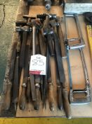 Quantity of Various Hand Tools - Includes: Hammers, Files & Saws