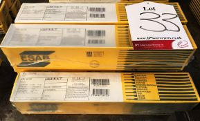 5 x ESAB OK 46.00 Welding Rods | Various Sizes & Quantities - As Pictured