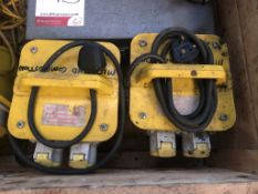 2 x Portable Transformer Units & Various Extension Leads