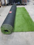 Roll of Green Artificial Grass | Approximate size: 3m x 8m