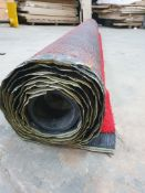 Roll of Red Artifical Grass | Approximate size: 4m x 8m
