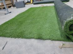 Roll of Green Artificial Grass | Approximate size: 2.3m x 4.5m