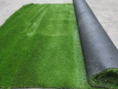 Roll of Green Artificial Grass | Approximate size: 2.2m x 4m
