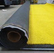 Roll of Yellow Artificial Grass | Approximate size: 4m x 4m