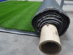 Roll of Green Artificial Grass | Approximate size: 2.3m x 6m
