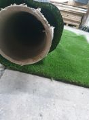 Roll of Green Artificial Grass | Approximate size: 3m x 5m