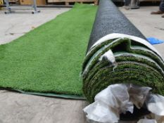 Roll of Green Artificial Grass | Approximate size: 4m x 6m
