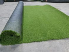 Roll of Green Artificial Grass | Approximate size: 1.8m x 3m