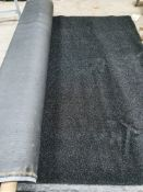 Roll of Black Artificial Grass | Approximate size: 3m x 16m